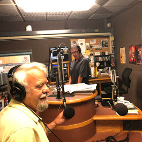 Doing an interview for Tennessee Public Radio in Chattanooga