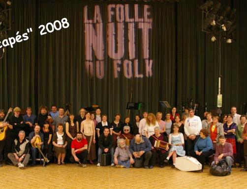 Rescapés Folle Nuit du Folk 2008