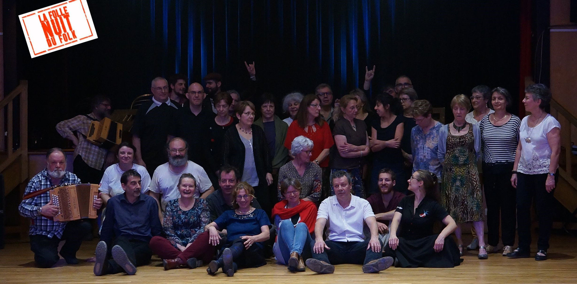 Rescapés Folle Nuit du Folk 2019