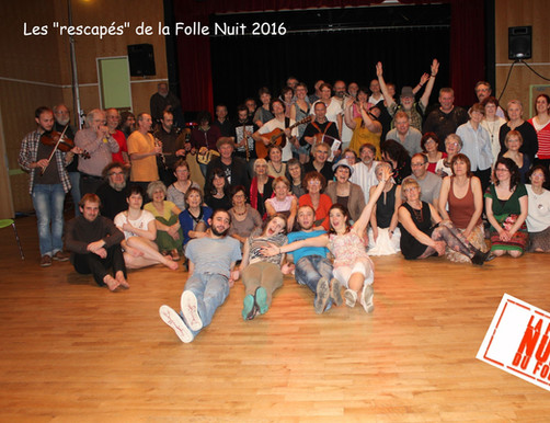 Rescapés Folle Nuit du Folk 2016