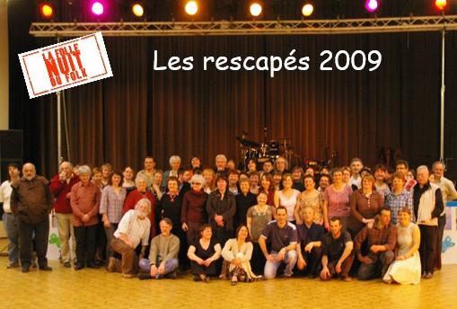 Rescapés Folle Nuit du Folk 2009