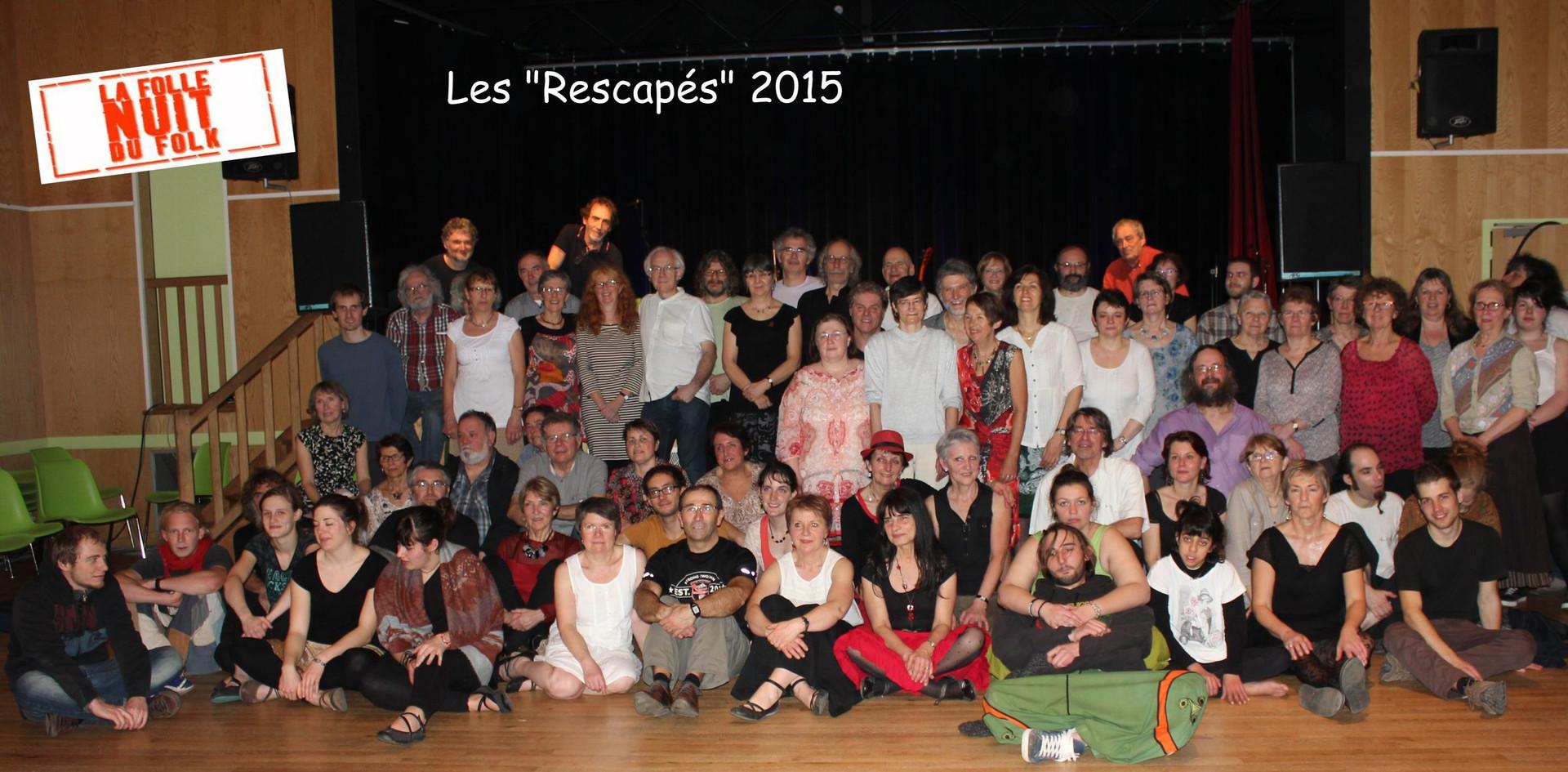 Rescapés Folle Nuit du Folk 2015