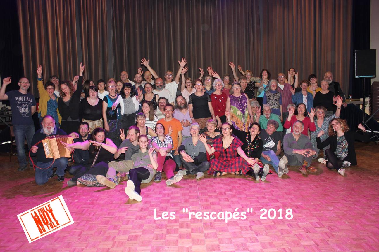 Rescapés Folle Nuit du Folk  2018