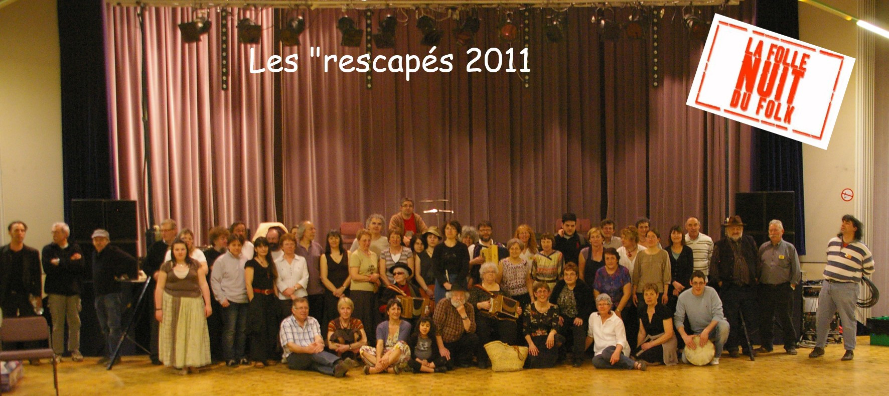 Rescapés Folle Nuit du Folk 2011