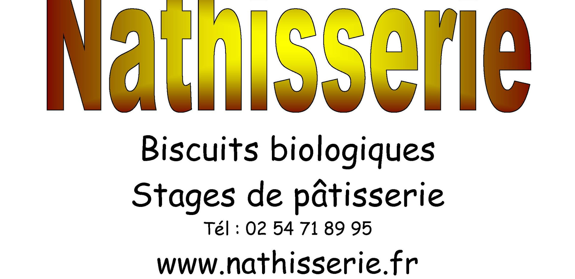 Nathisserie Biscuits biologiques