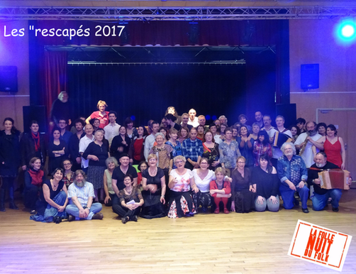 Rescapés Folle Nuit du Folk 2017