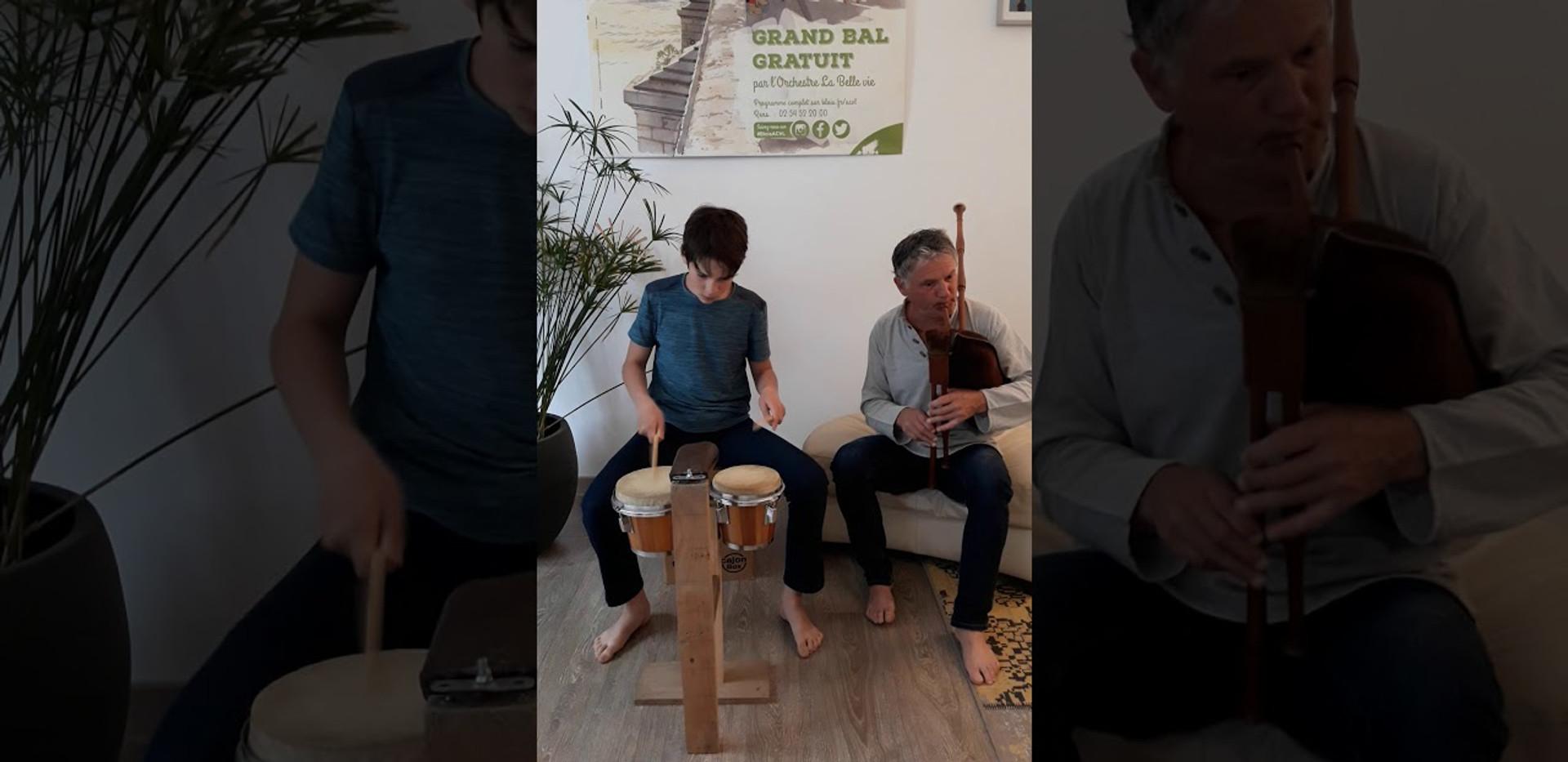 Jean Griveau père et fils Suite de bourrées 2T