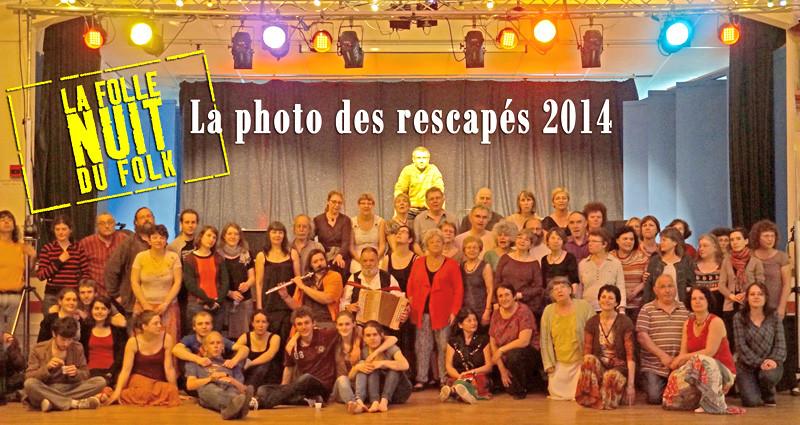 Rescapés Folle Nuit du Folk 2014