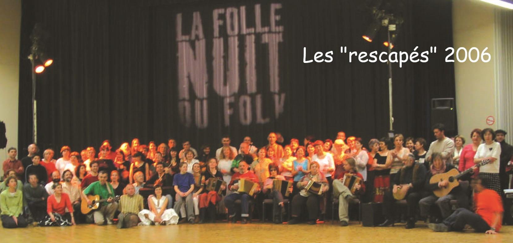 Rescapés Folle Nuit du Folk 2006