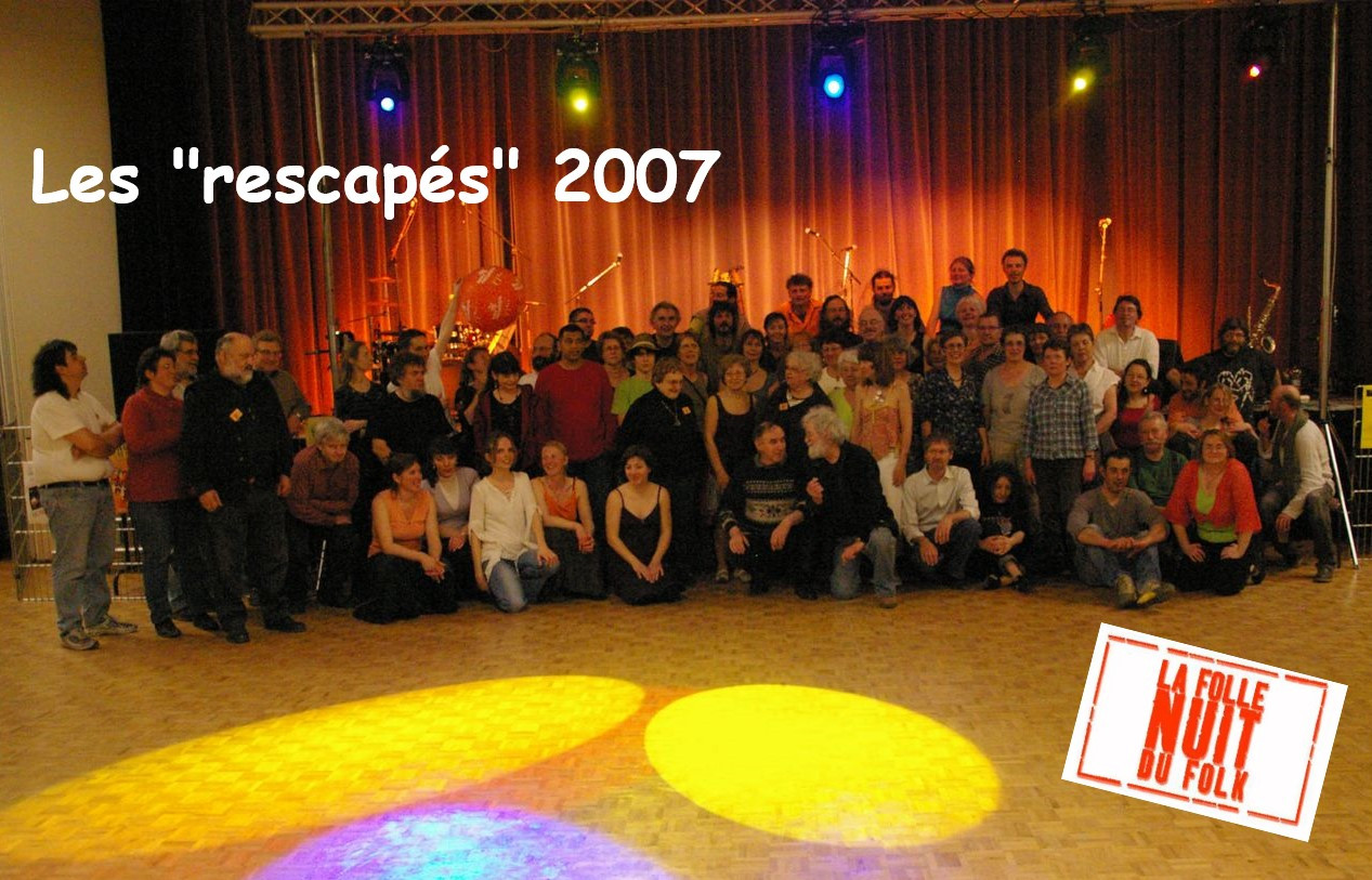 Rescapés Folle Nuit du Folk 2007