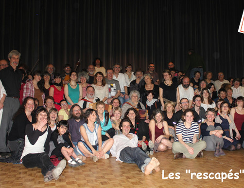 Rescapés Folle Nuit du Folk 2013