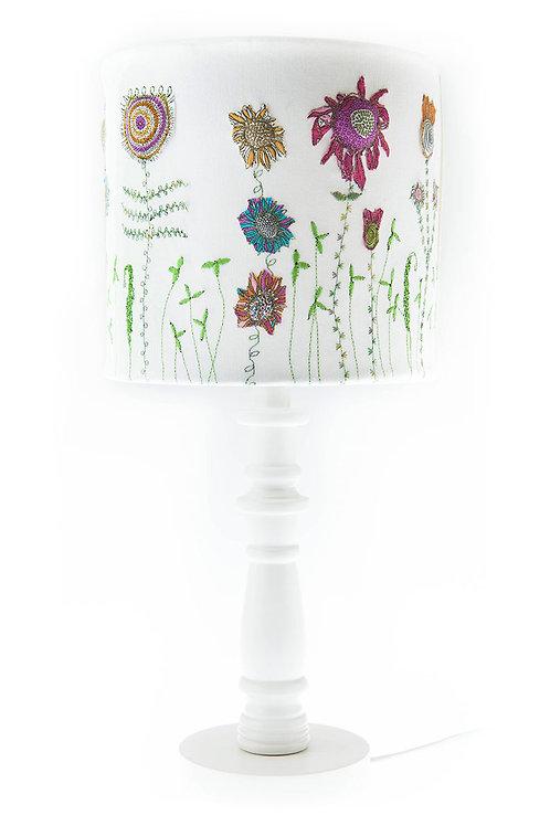 Handmade lampshade 20 cm diameter approx. 20 cm height