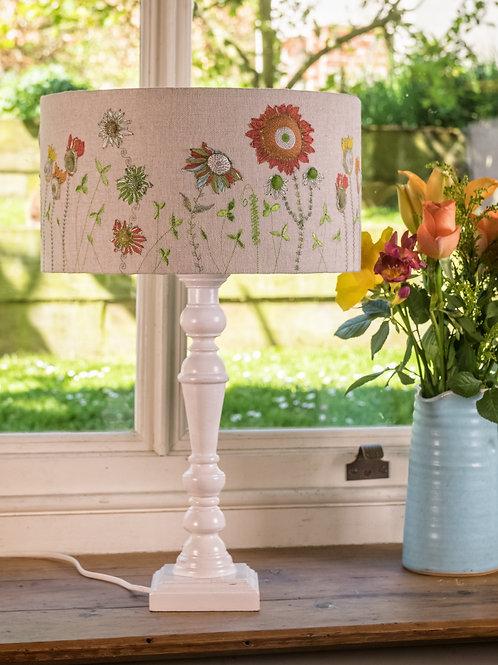 Handmade lampshade 30 cm diameter, 16 cm height (for large lampshade base)