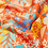 Thumbnail: Handmade scarves using 100% silk satin fabric in beautiful rich colours