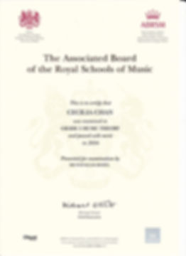 ABRSM Music exam at Music Box School