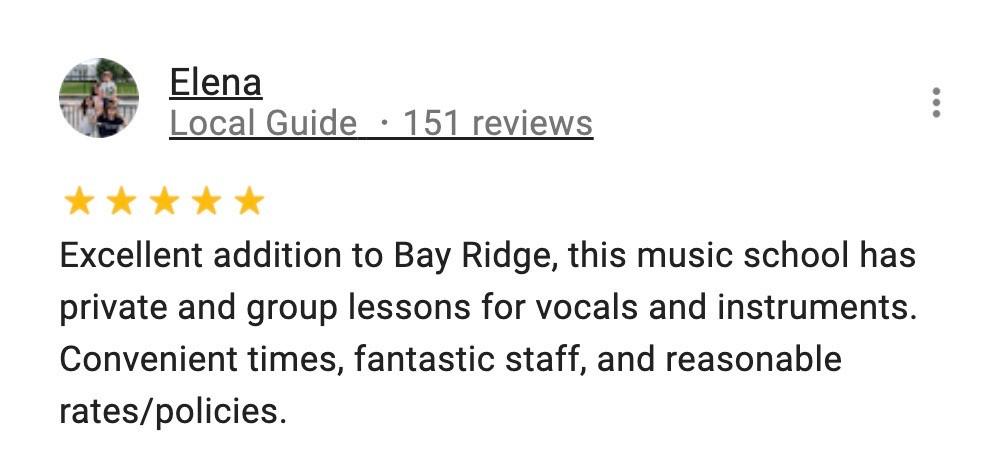 Guitar lessons in Bay Ridge and Sheepshead Bay, Brooklyn