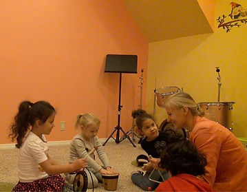 Proven music learning methods designed especially for young kids (3 to 6 years old)