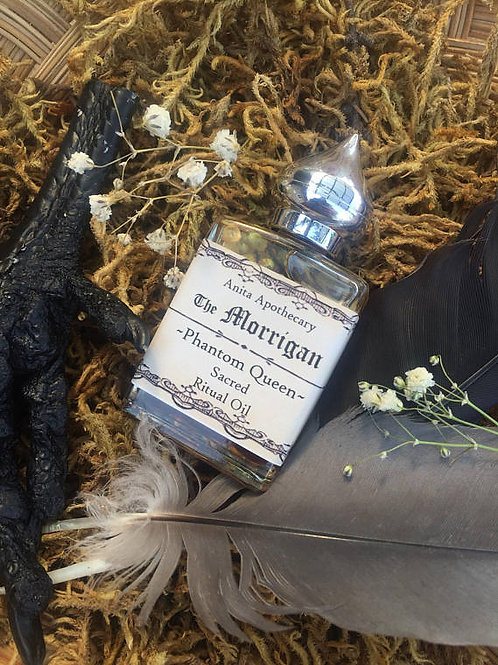 The Morrigan~Phantom Queen Sacred Ritual Oil