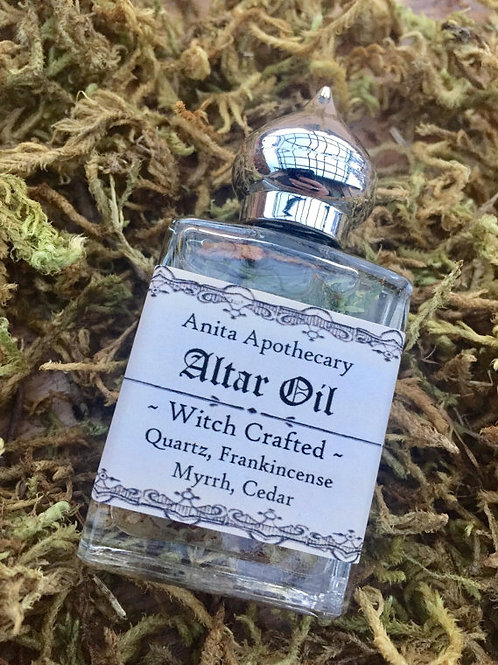 Altar Oil~Sacred Ritual Witch Crafted Oil