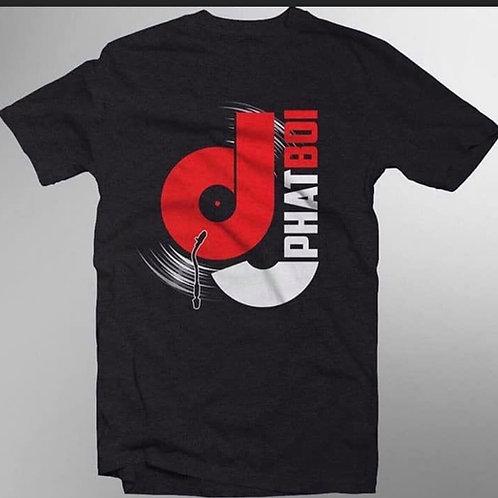 DJ PHATBOI LOGO T SHIRT
