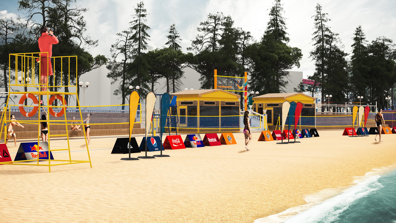 Спорт-пляж