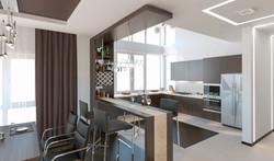 Гостиная -кухня 2