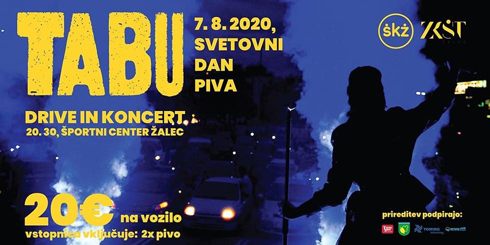 TABU_ŽALEC - Drive in koncert