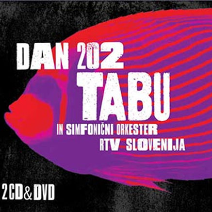 2CD & DVD_TABU IN SORS_DAN202