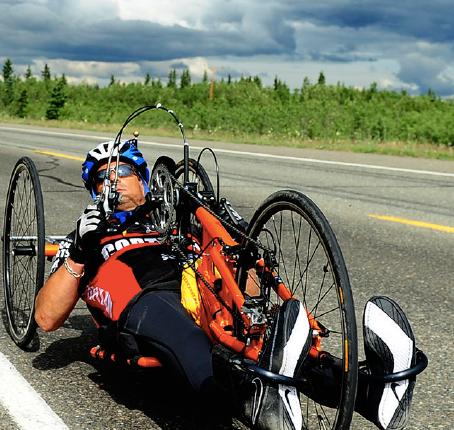 hand cycling - ALASKA style