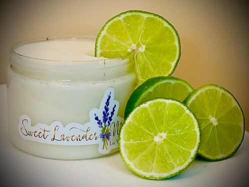 Luscious Lime Dead Sea Salt Scrub