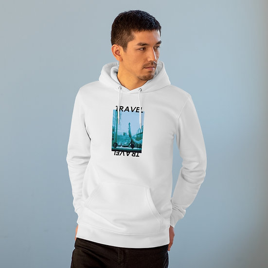 Travel by Scooter - Unisex Cruiser Hoodie