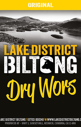 Lake District Biltong - Dry Wors