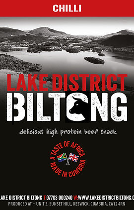 Lake District Biltong - Chilli