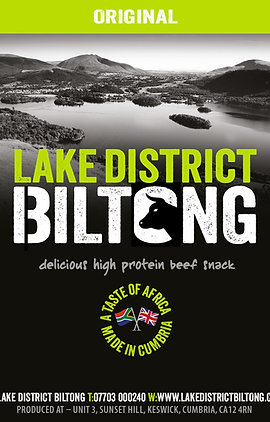 Lake District Biltong - Original