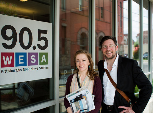 Melissa Troutman and Joshua Pribanic, Co-founders of Public Herald
