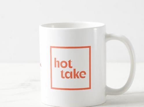 Hot Take Mug, simple