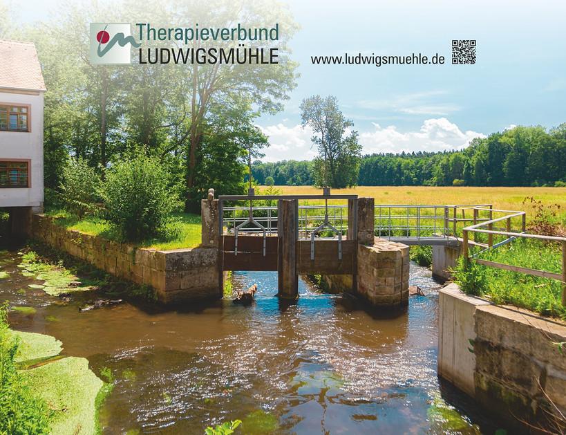 Messewand Therapieverbund Ludwigsmühle
