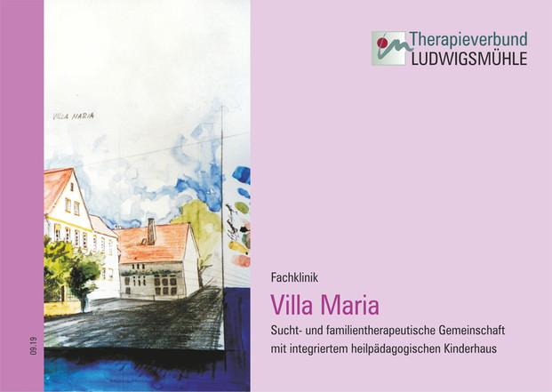 Broschüre Villa Maria 2019