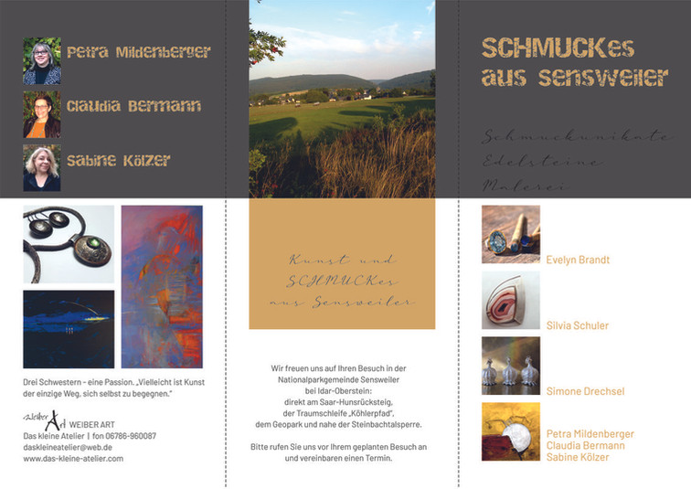 Folder SCHMUCKes aus Sensweiler