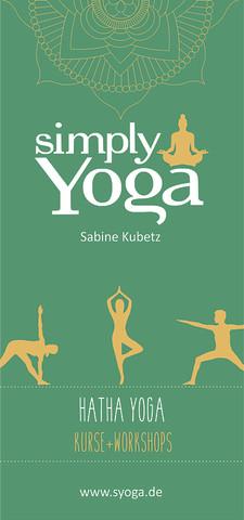 Yogafolder Simply Yoga 2021