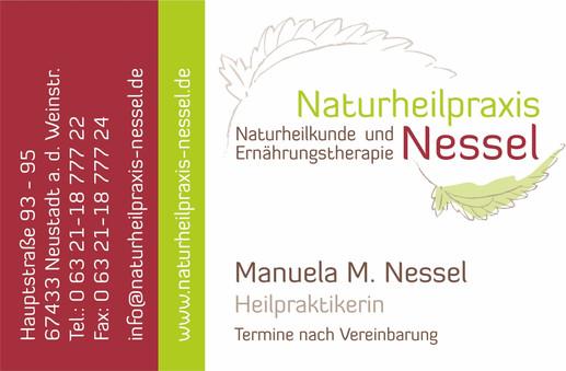 Visitenkarte Manuela M. Nessel