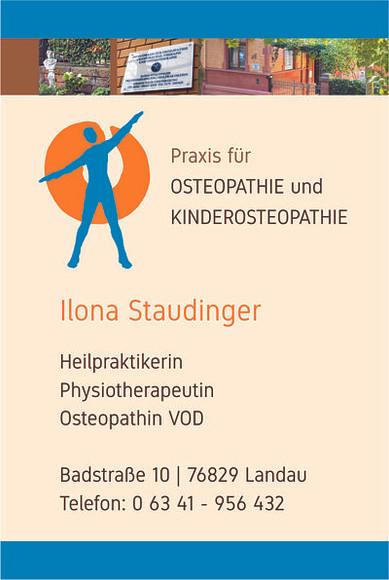 Visitenkarte Ilona Staudinger