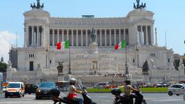 De Londres para Itália (Roma - 1 dia)