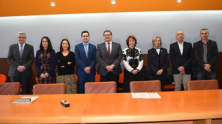 Inauguración de la cátedra de Epifanio Campos