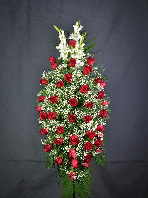 Ramo de rosas grande para colgar (Ref. 50)