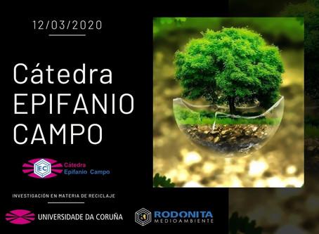 COMUNICADO DEL GRUPO RODONITA SOBRE LA INAUGURACIÓN DE LA CÁTEDRA EPIFANIO CAMPO: