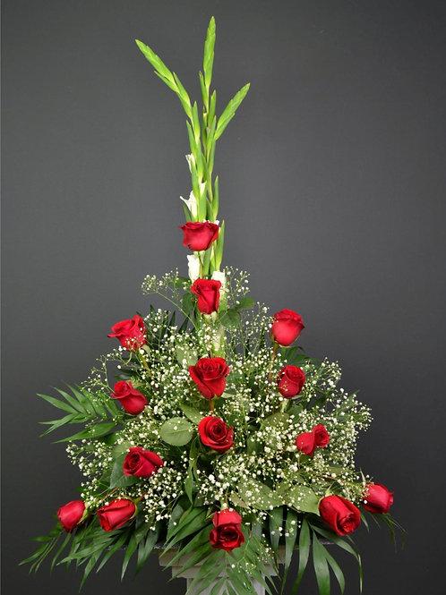 Centro 15 rosas (Ref. 1M)