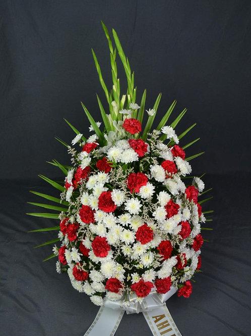 Ramo de clavel y crisantemo (Ref. 7N)