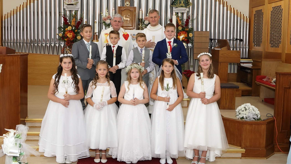 Slávnosť prvého svätého prijímania