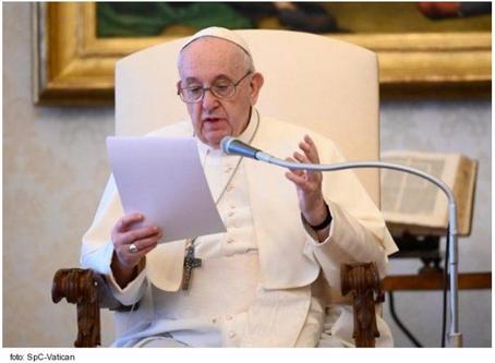Katechéza svätého otca Františka o modlitbe: Modlitba Dávida